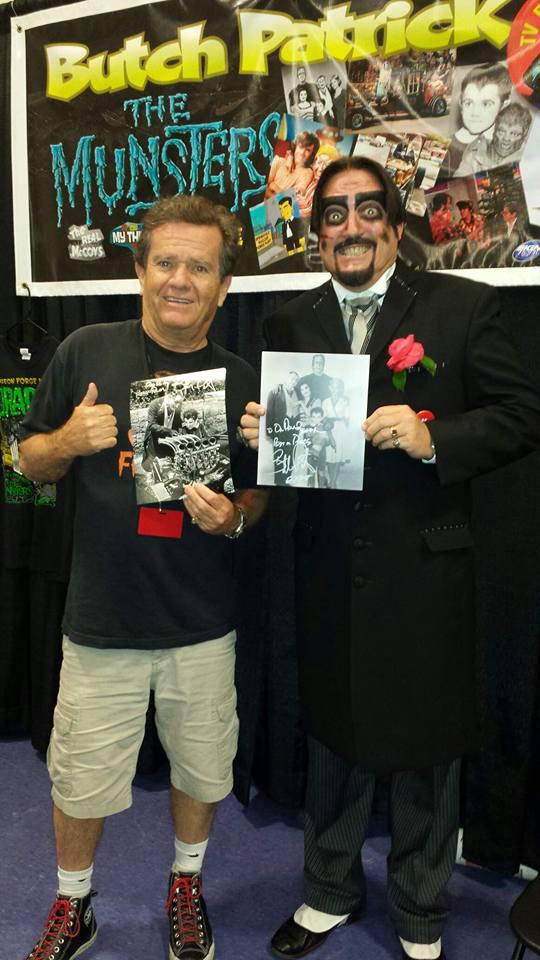 Dr. Paul Bearer with Butch Patrick