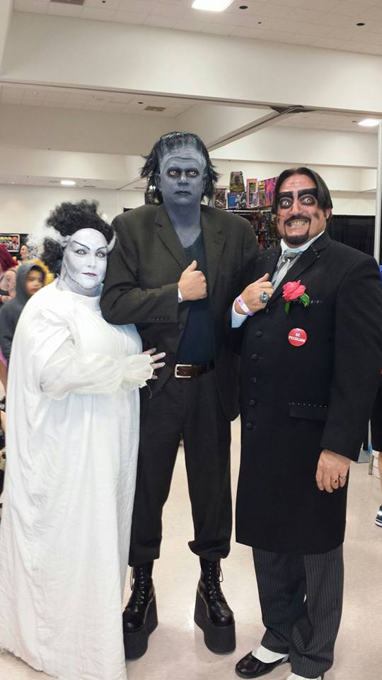 Dr. Paul Bearer with Frankenstein