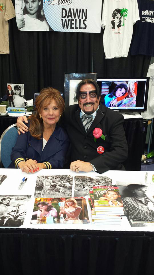 Dr. Paul Bearer with Dawn Wells