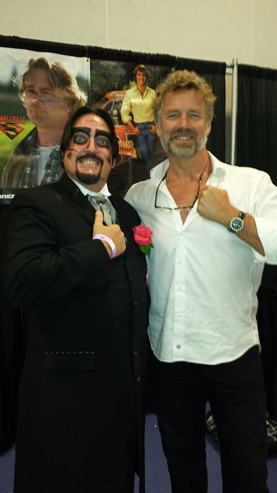 Dr. Paul Bearer with John Schneider