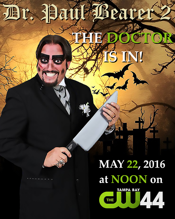 Dr. Paul Bearer CW44 flyer