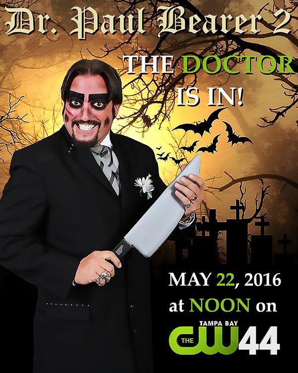 Dr. Paul Bearer CW44 flyer