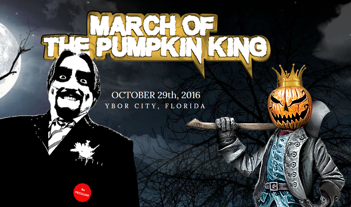 Dr. Paul Bearer march of the pumpkin king