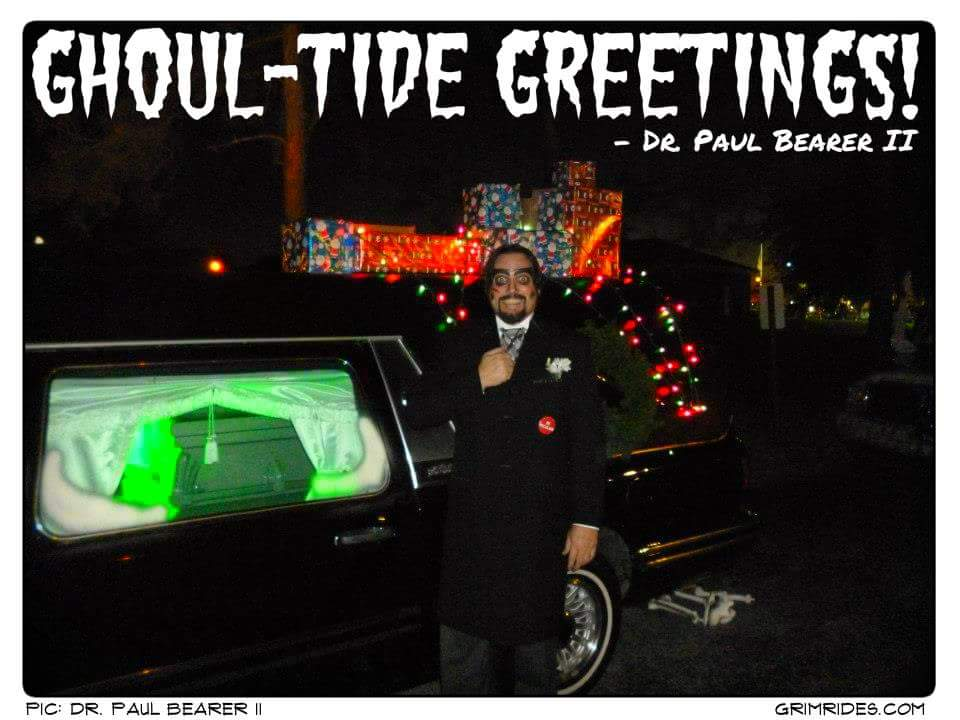Dr. Paul Bearer Christmas