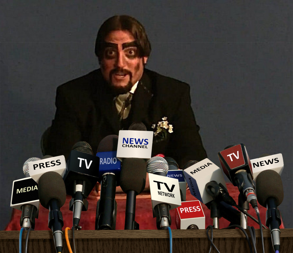 Dr. Paul Bearer Press Conference