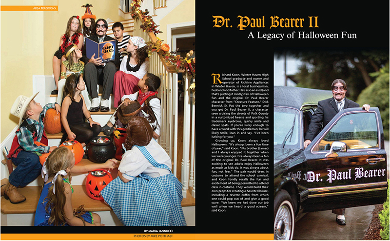 Inside Polk Magazine Dr. Paul Bearer