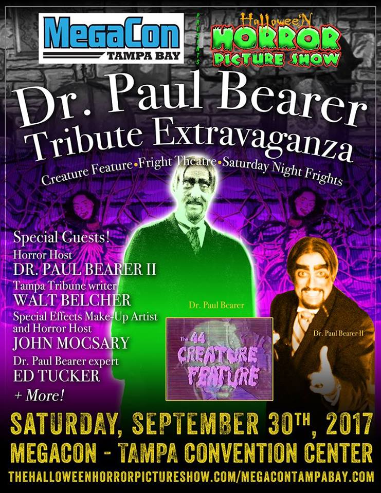 Join Dr. Paul Bearer at MegaCon