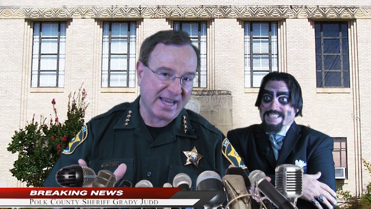 Dr. Paul Bearer and Polk County Sheriff Grady Judd