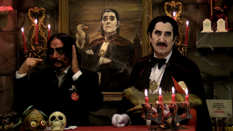Dr. Paul Bearer and Count Gore De Vol