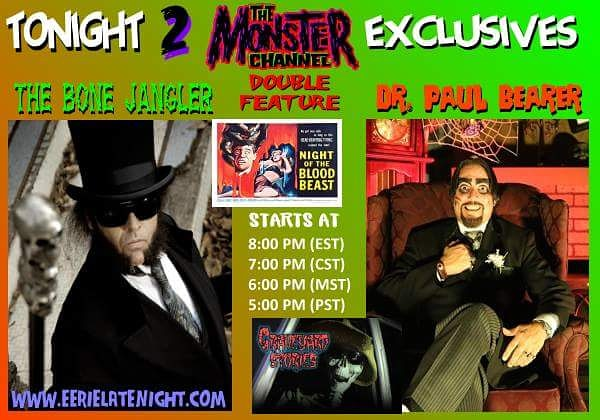 Dr. Paul Bearer Eerie Late Night