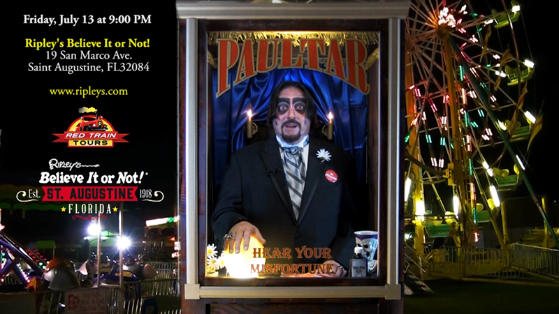 Dr. Paul Bearer Ghost Train Adventure