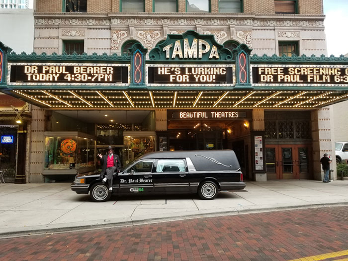 Dr. Paul Bearer Tampa Theatre