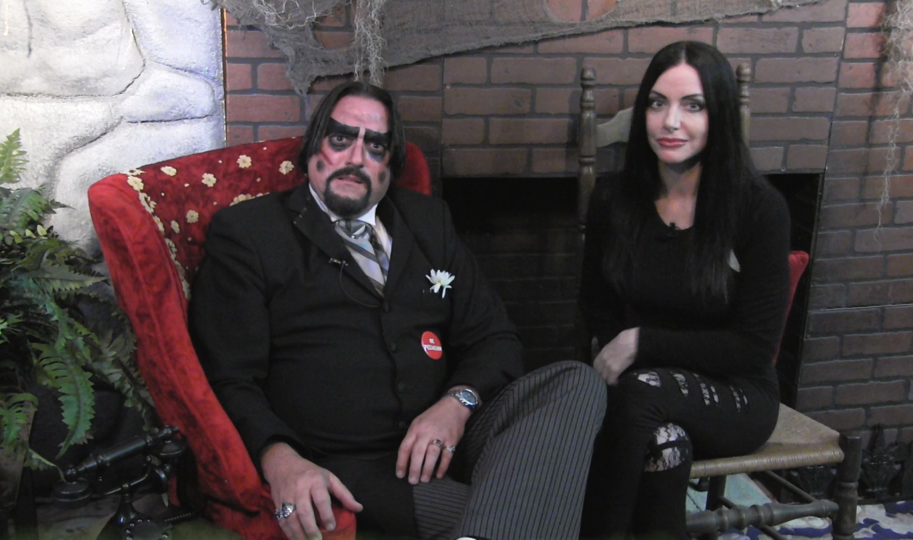 Dr. Paul Bearer and Ivonna Cadaver